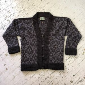 Dale of Norway Pure New Wool Knit Cardigan
